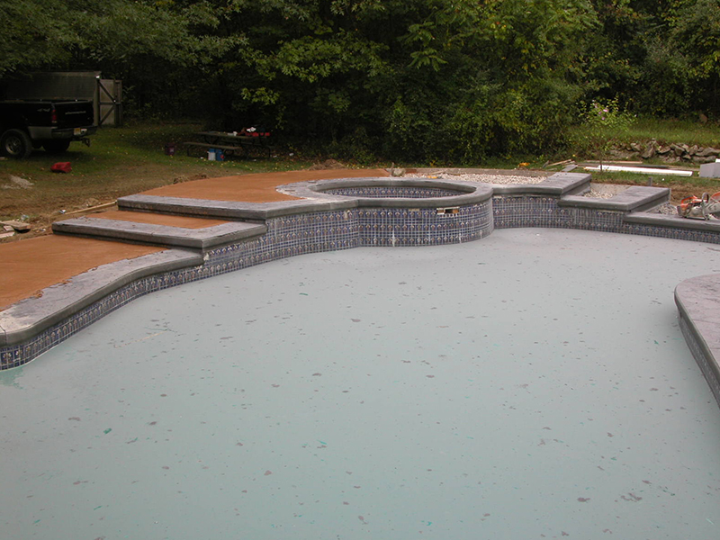Swimming Pools Newton Stamped Concrete Sealers And High